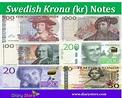 Swedish Krona Currency | SEK | KR | Sweden Krona | Diary Store