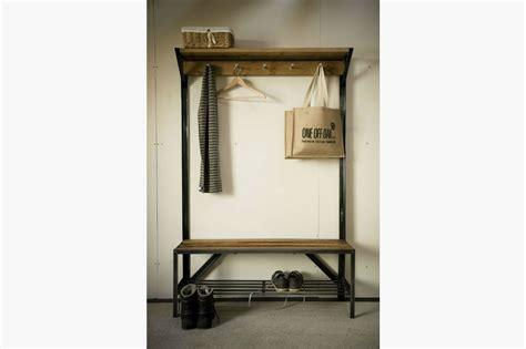 coat rack bench coat rack bench bespoke handmade furniture from oak