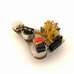 Image Of Solderless Stratocaster Harness