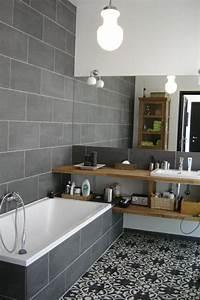 17 meilleures idees a propos de tapis de salle de bain sur With salle de bain gris bois