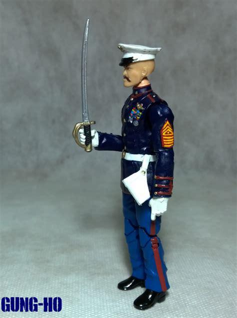 custom modern era gijoe gung ho marine dress blues