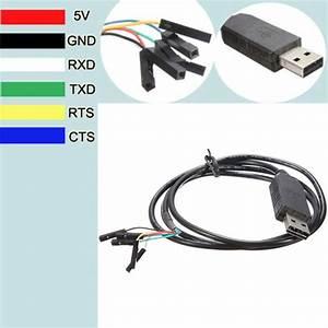 6pin Ftdi Ft232rl Usb To Serial Adapter Module Usb To Ttl