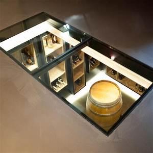 Cave À Vin Design : dalle de verre en guise de puits de lumi re am architecture int rieur ~ Voncanada.com Idées de Décoration