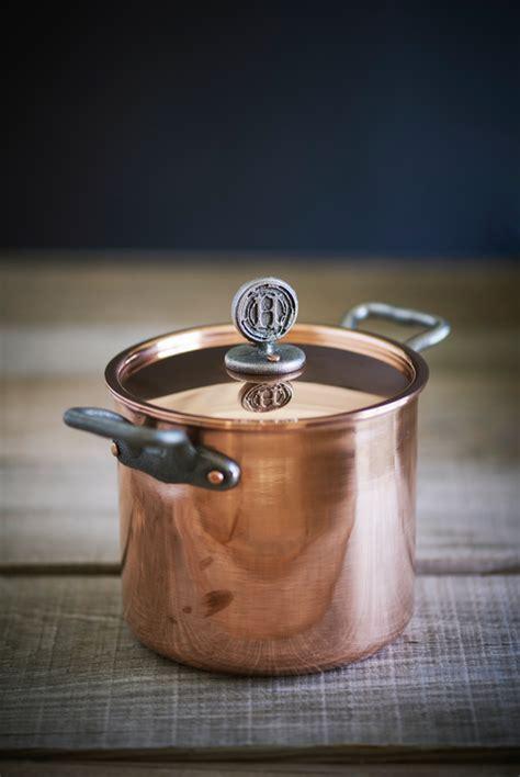 copper stock pot  quart copper pots copper safest cookware