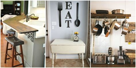 How To Decorate My Small Kitchen - small kitchen design ideas tiny kitchen decorating
