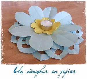 Comment Faire Des Choses En Papier : faire des fleurs en papier kirigami la cour des petits ~ Zukunftsfamilie.com Idées de Décoration