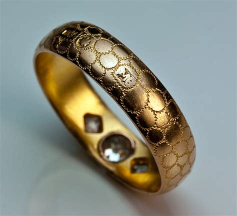 wedding rings unique gold diamond russian wedding band jewelry vintage