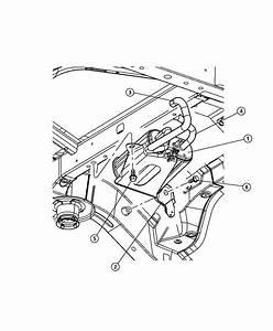 2008 Dodge Avenger Hose  Canister To Vent Valve  Engine