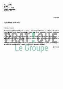Demande De Pret Caf : lettre de renonciation ~ Gottalentnigeria.com Avis de Voitures