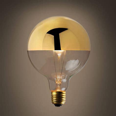 lights bulbs decorative bulbs gold tipped g40