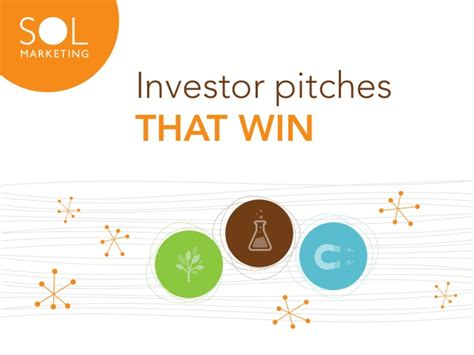 investor pitches that win sol marketing tx