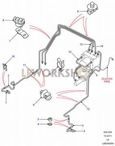 Front Brake Pipes - Lhd With Abs