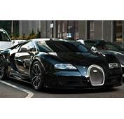 Sports Cars Bugatti Veyron Black