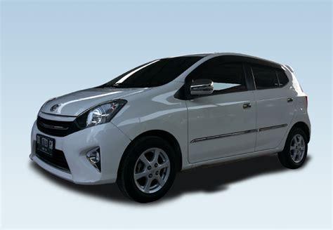 Toyota Agya Backgrounds by Toyota Agya Bali Rent Cars