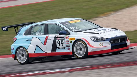 Wilkins Mazda Hyundai by Wilkins Leads Another Bha Hyundai 1 2 In Race 2
