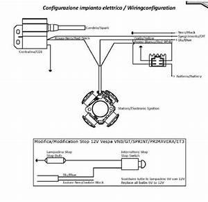 Schaltplan Sprint F U00fcr Vespatronic