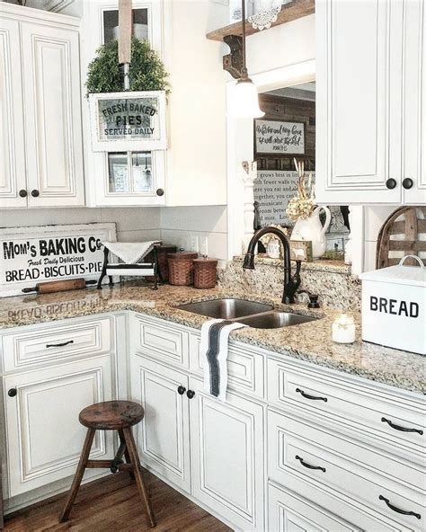 color kitchen cabinets farmhouse kitchen how to style your kitchen like one 6430