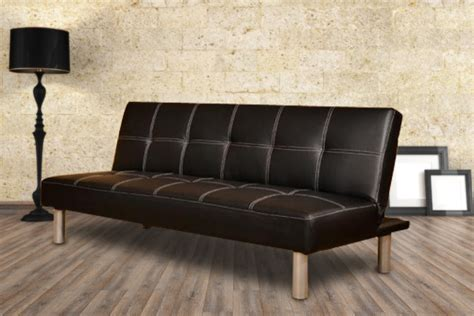 Sofa Deals by Faux Leather Sofa Bed Wowcher