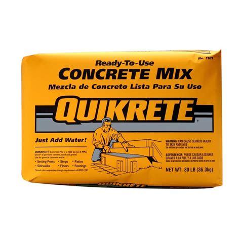 Lowes Kitchen Design Ideas - quikrete 80 lb concrete mix 110180 the home depot