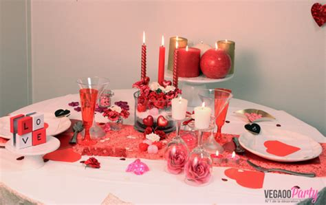 Decoration De Table Pour Un Diner En Amoureux