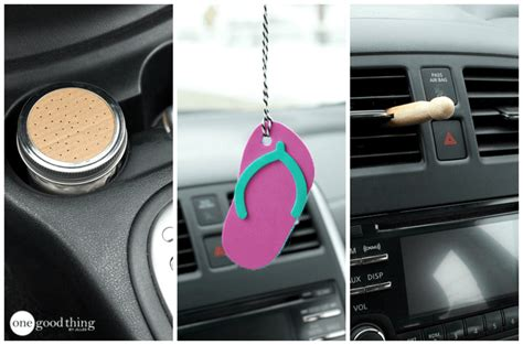 How To Make 3 Naturally-scented Air Fresheners For Cars