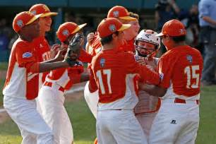 lufkin texas takes  mighty japan  llws title