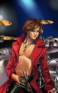 Professional Drumer The Drumer Yoshiki By Spiritualfeel On Deviantart