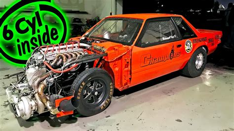 cylinder mustang inline 1700 drag racing fast ford horsepower crazy times dragtimes 1320video