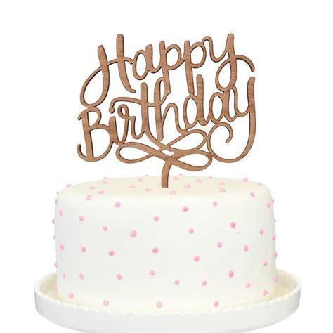 Kitchen Decoration Ideas - happy birthday cake topper alexis mattox design