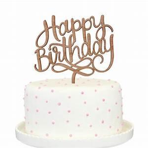 Happy Birthday Cake Topper – Alexis Mattox Design