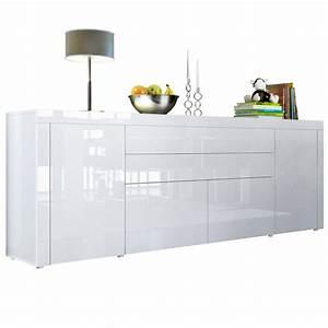 Sideboard Weiß Buche : la paz v2 mit absetzungen t ren klappen schubladen ~ Frokenaadalensverden.com Haus und Dekorationen