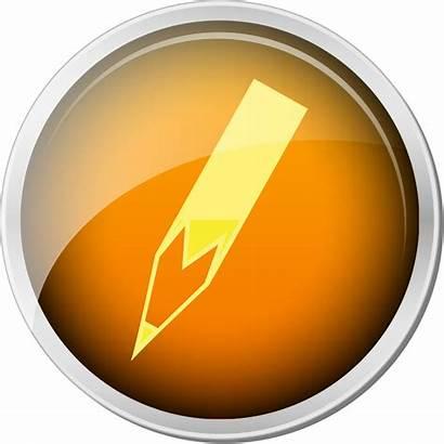 Icon Orange Edit Svg Wikipedia Commons Pixels
