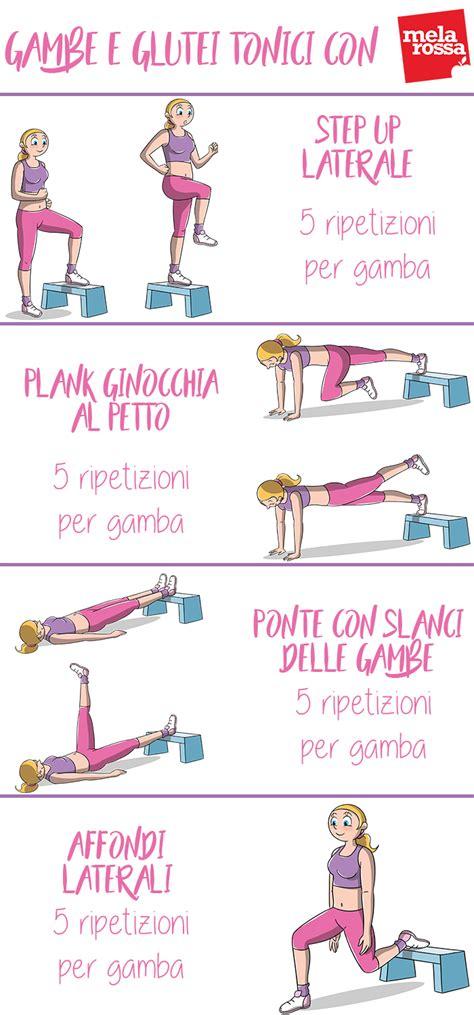 workout in casa esercizi gambe e glutei tonici il circuito da fare in