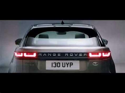 range rover velar  youtube