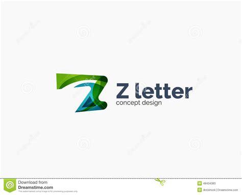 Modern Company Z Letter Logo Stock Vector