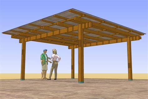 How To Build A Detached Patio Cover by Patio Structure Designs