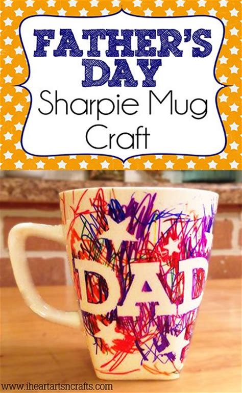 easy fathers day craft  kids red ted arts blog