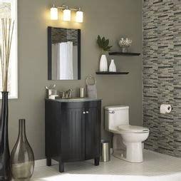 gray walls black vanity glass tiles all lowes bathroom