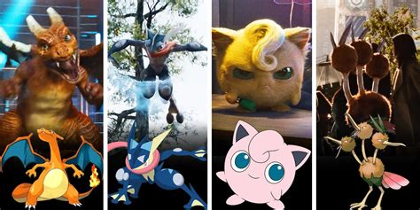 Every Pokemon Confirmed For Live-action