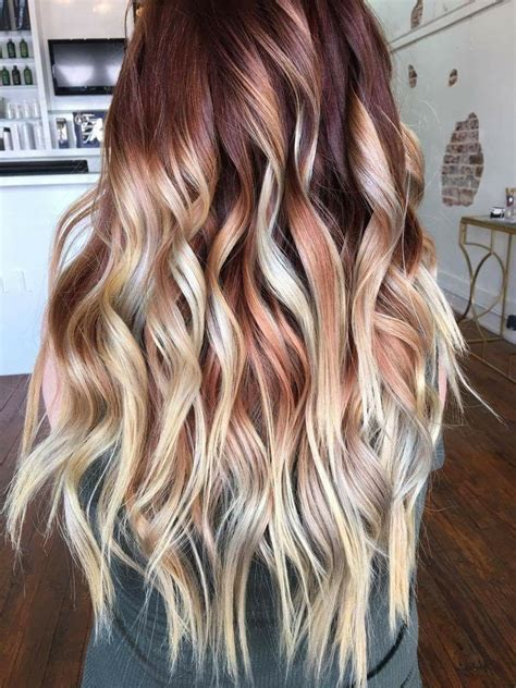 Colors That Go With Hair by Balyage Ombr 233 Copper In 2019