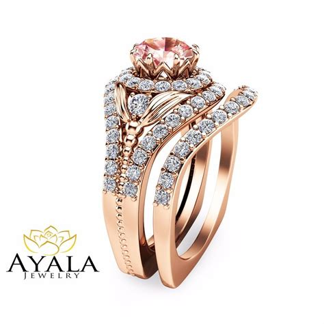 Peach Pink Morganite Bridal Set 14k Rose Gold Engagement. Classic Cut Engagement Rings. Strang Wedding Rings. Piece Wedding Wedding Rings. Diamond Micro Pave Engagement Rings. Love Wedding Rings. Ethereal Wedding Rings. Breathtaking Engagement Rings. Amethist Wedding Rings