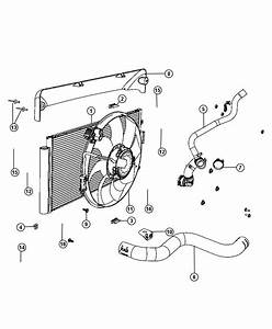 2012 Fiat 500 Hose  Radiator Inlet  Cooling  Maintenance