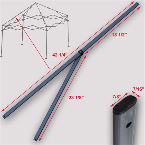 quik shade instant canopy replacement parts quik shade expedition 10 x10 instant canopy 2 peak truss
