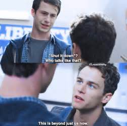 13 Reasons Why Justin Quotes