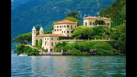 Villa Del Balbianello Lake Como Italy 4k Youtube