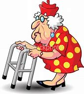 Image result for pictures of little old ladies with broken bones
