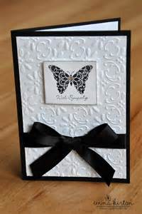 Simple Stampin Up Sympathy Cards