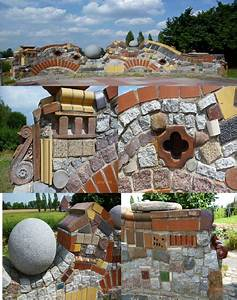 Gartenmauern Aus Naturstein : selbst gebaute mauer mit details gartenmauer pinterest ~ Sanjose-hotels-ca.com Haus und Dekorationen