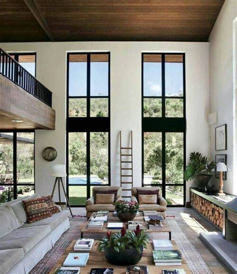 High Ceiling Living Room by Home Design And Decor House High Ceiling Designs High