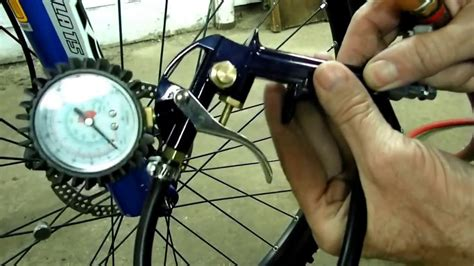 Bicycle Tire Inflator Presta Valve